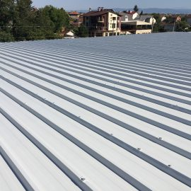 Roof structure installation