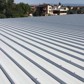 Монтаж на покривна конструкция